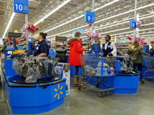 Walmart Puts Reusable Bags at Store Checkouts to Reduce Plastic