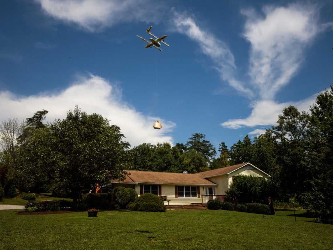 Alphabet's Drone Delivery Business Has Been Cleared for Takeoff