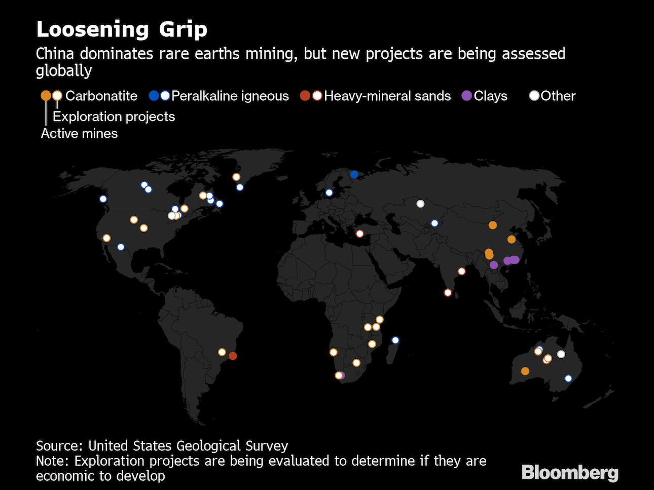 U.S. Risks 'Devastating' Blow From China's Rare Earths Monopoly