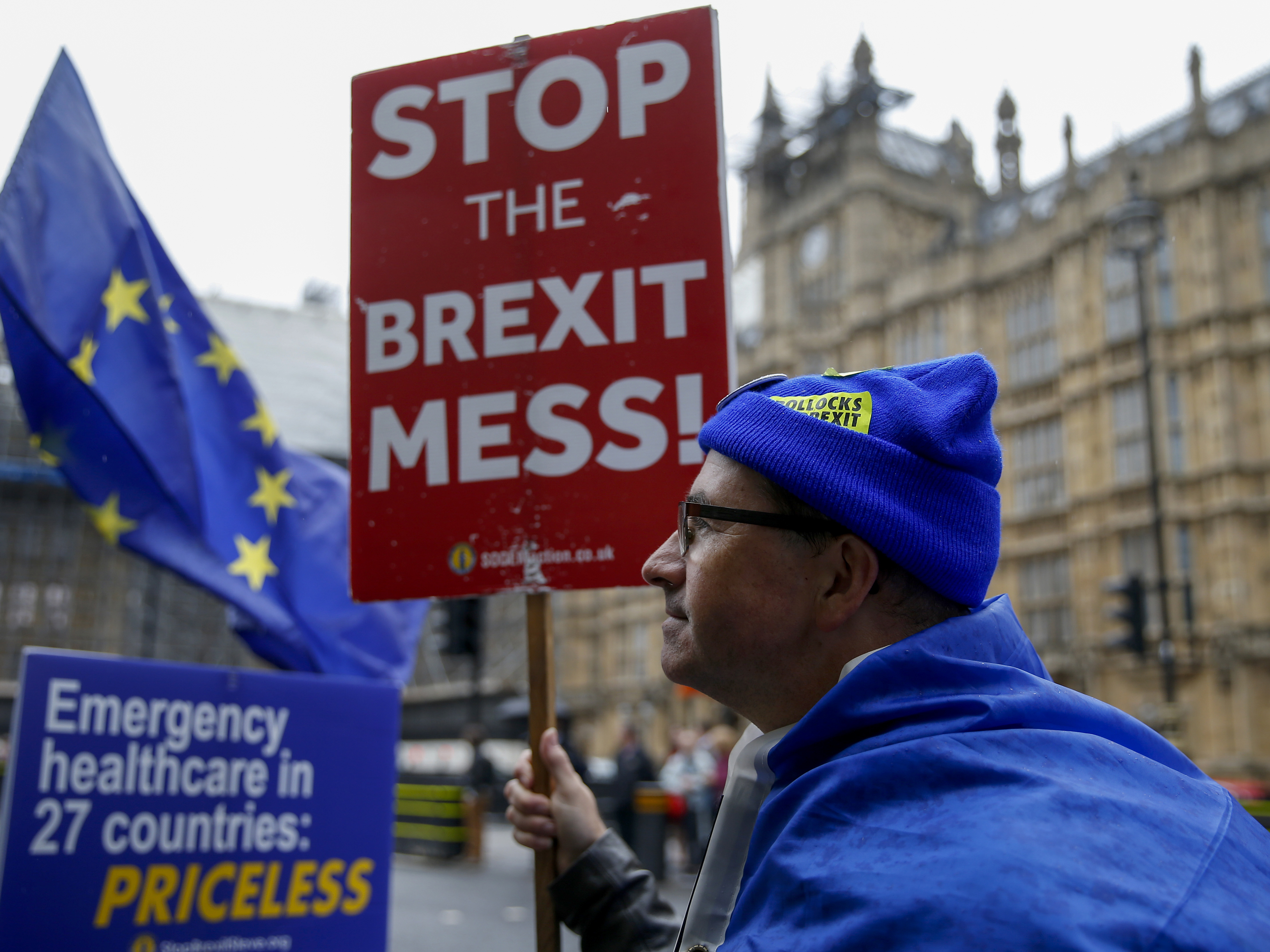 U.K. Warns of Protests, Chaotic Border Scenes in 'Worst-Case' Brexit Report