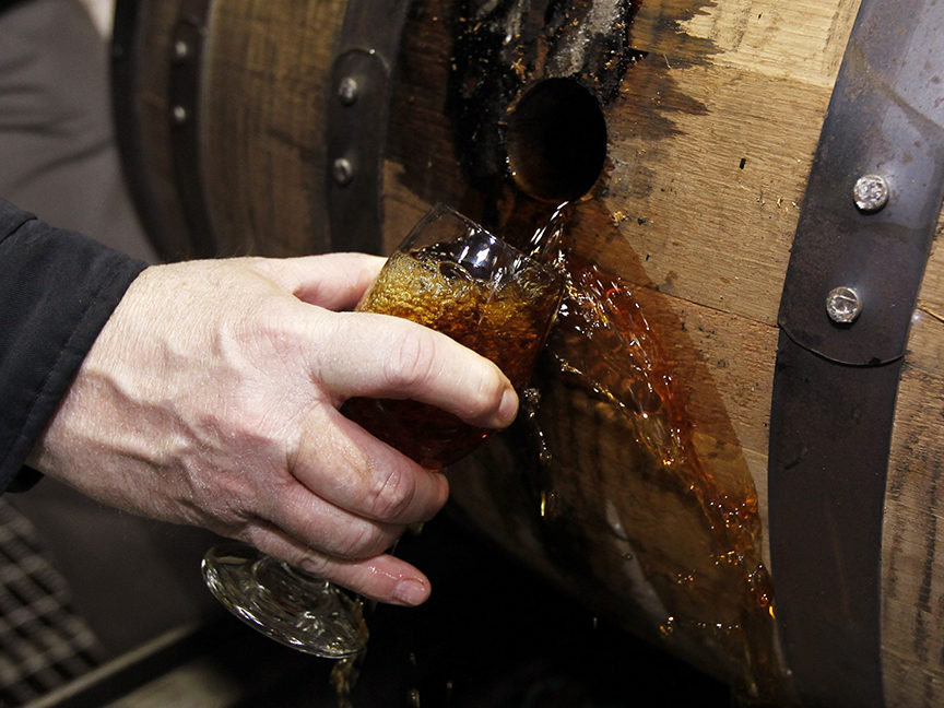 Whiskey Makers Are Bidding For Climate-Conscious Drinkers