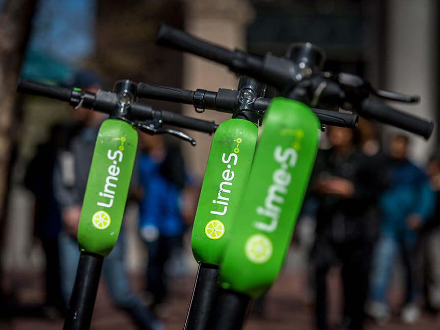 Lime's Chinese-Made Scooters Get Caught Up in Trump's Trade War