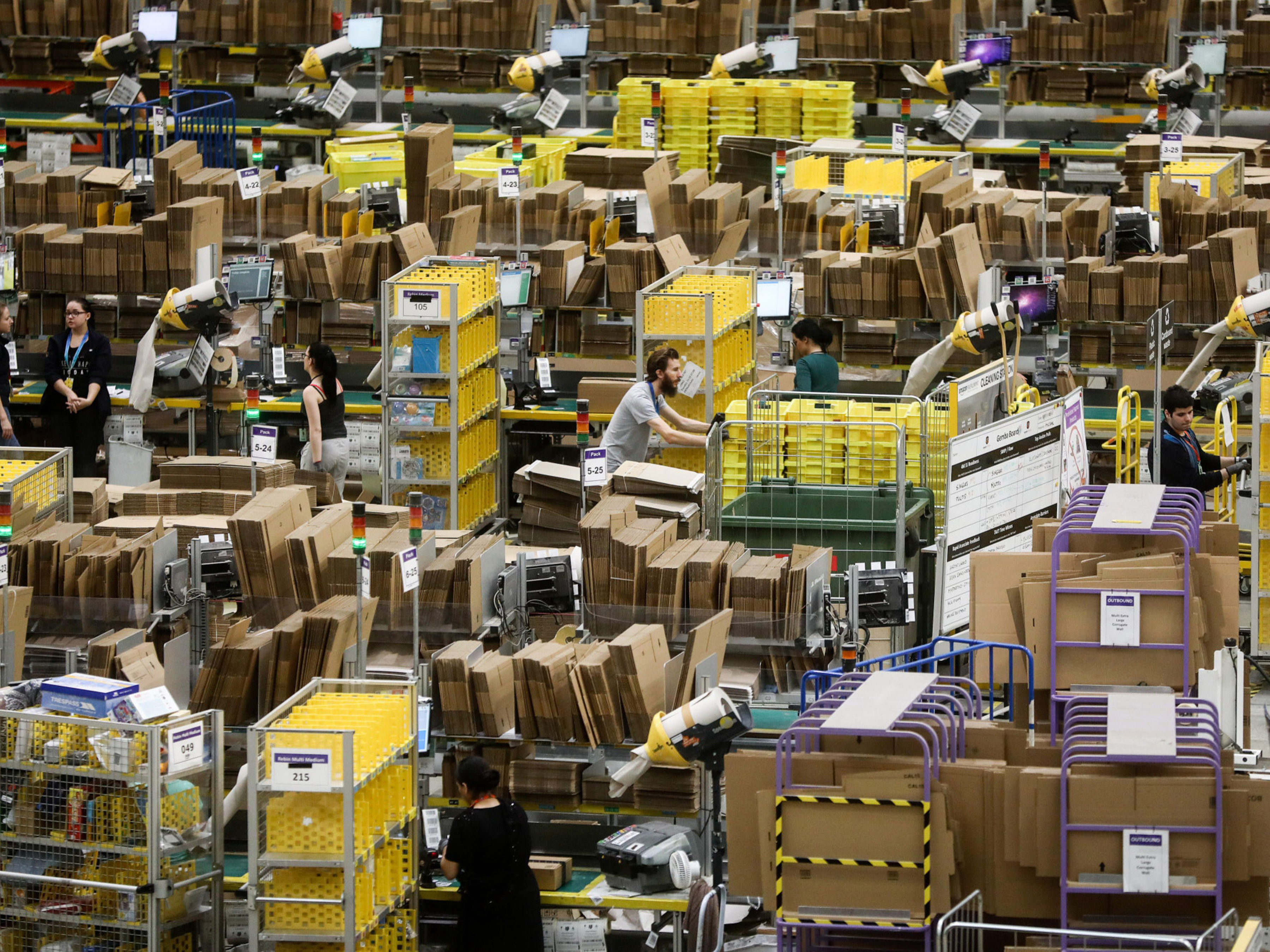 The Amazonification of Supply Chains