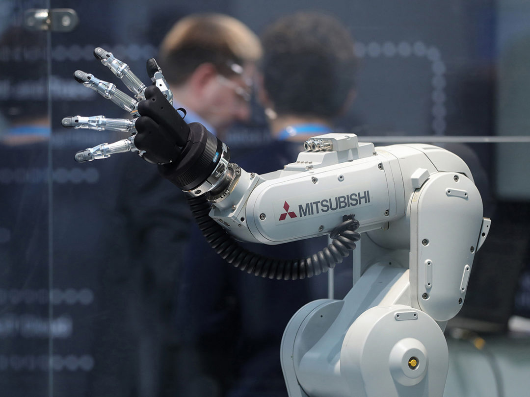 Why the U.S. Lags Asia in Use of Robots in Factories and Warehouses