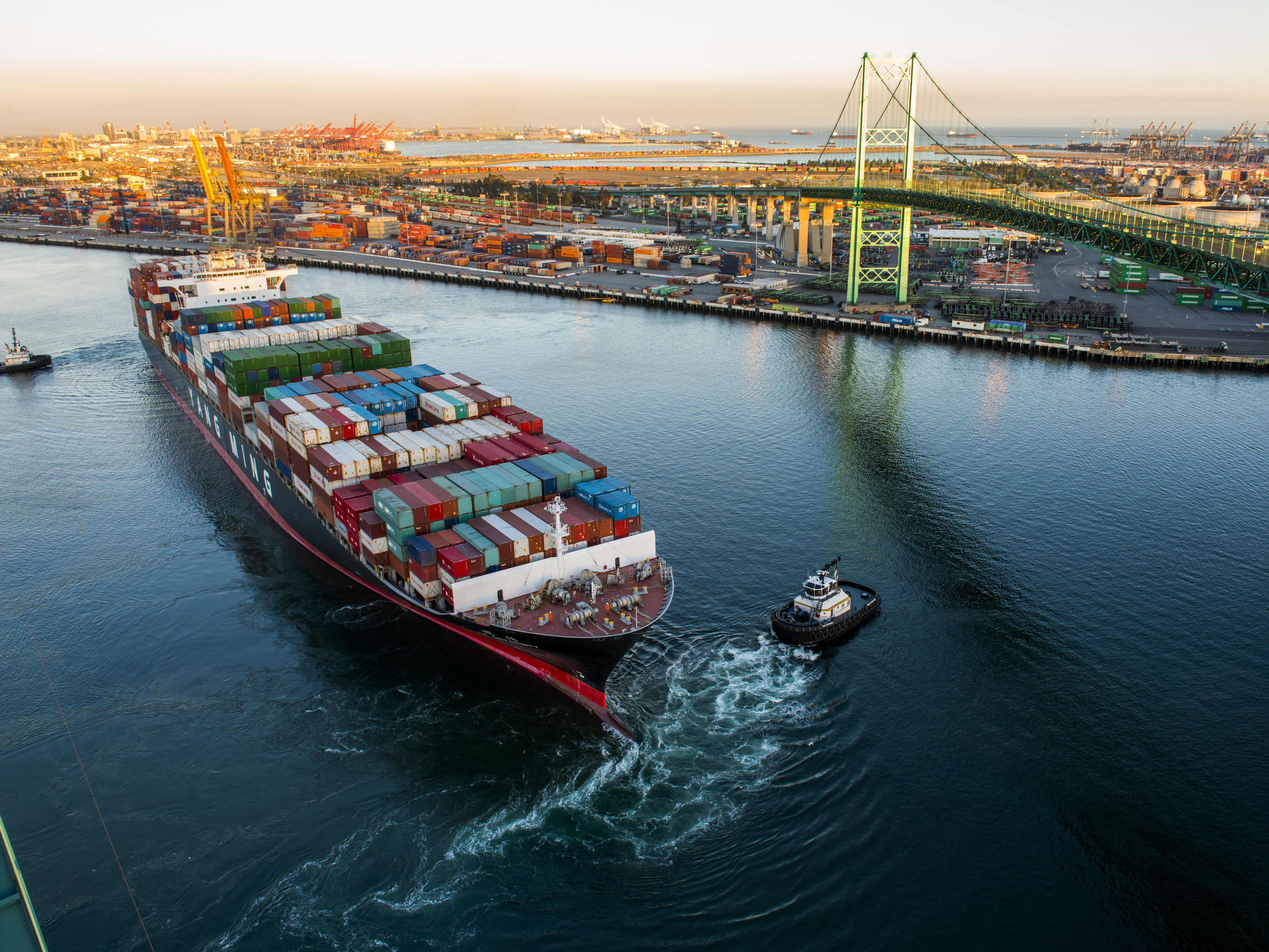 Warning Bells Sound for U.S. Economy As Virus Squeezes Ports
