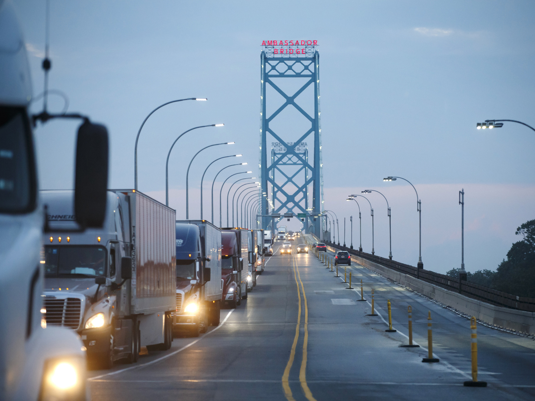 Food Supply Chain Slows Around the World on Trucking Bottlenecks
