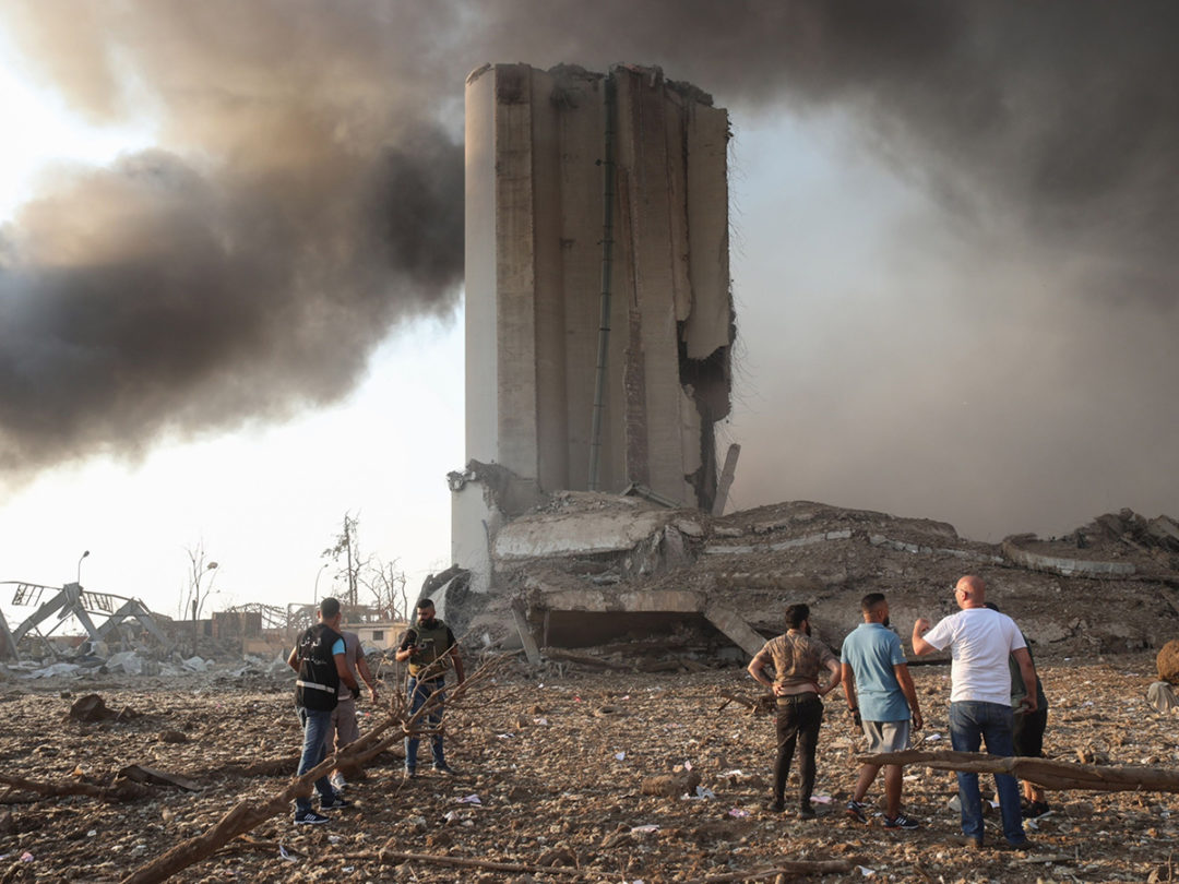 Beirut Explosion Destroys Tonnes of Lebanon's Food Stocks