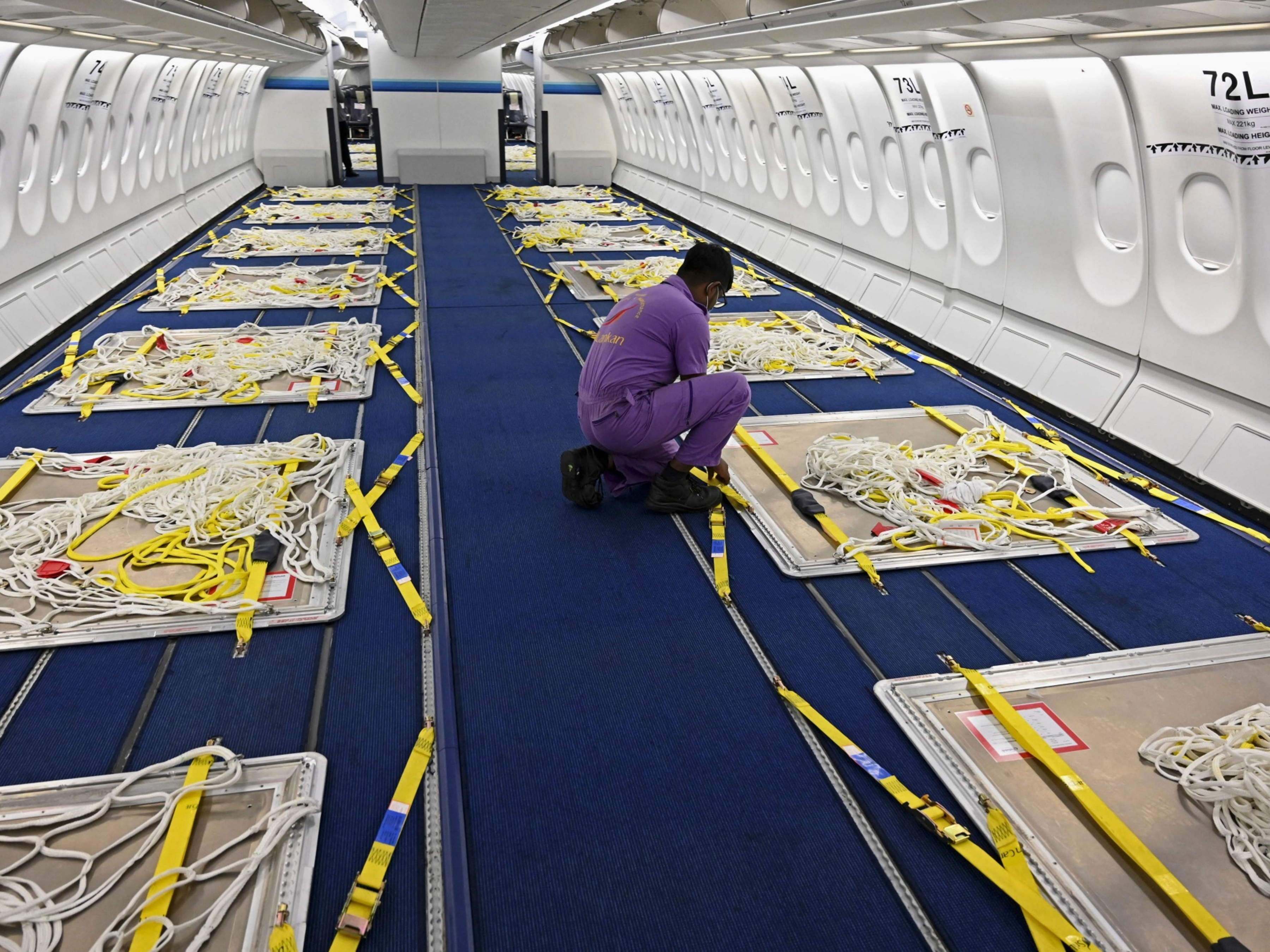 Airlines Are Removing Seats to Make Space for Gadgets and Seafood