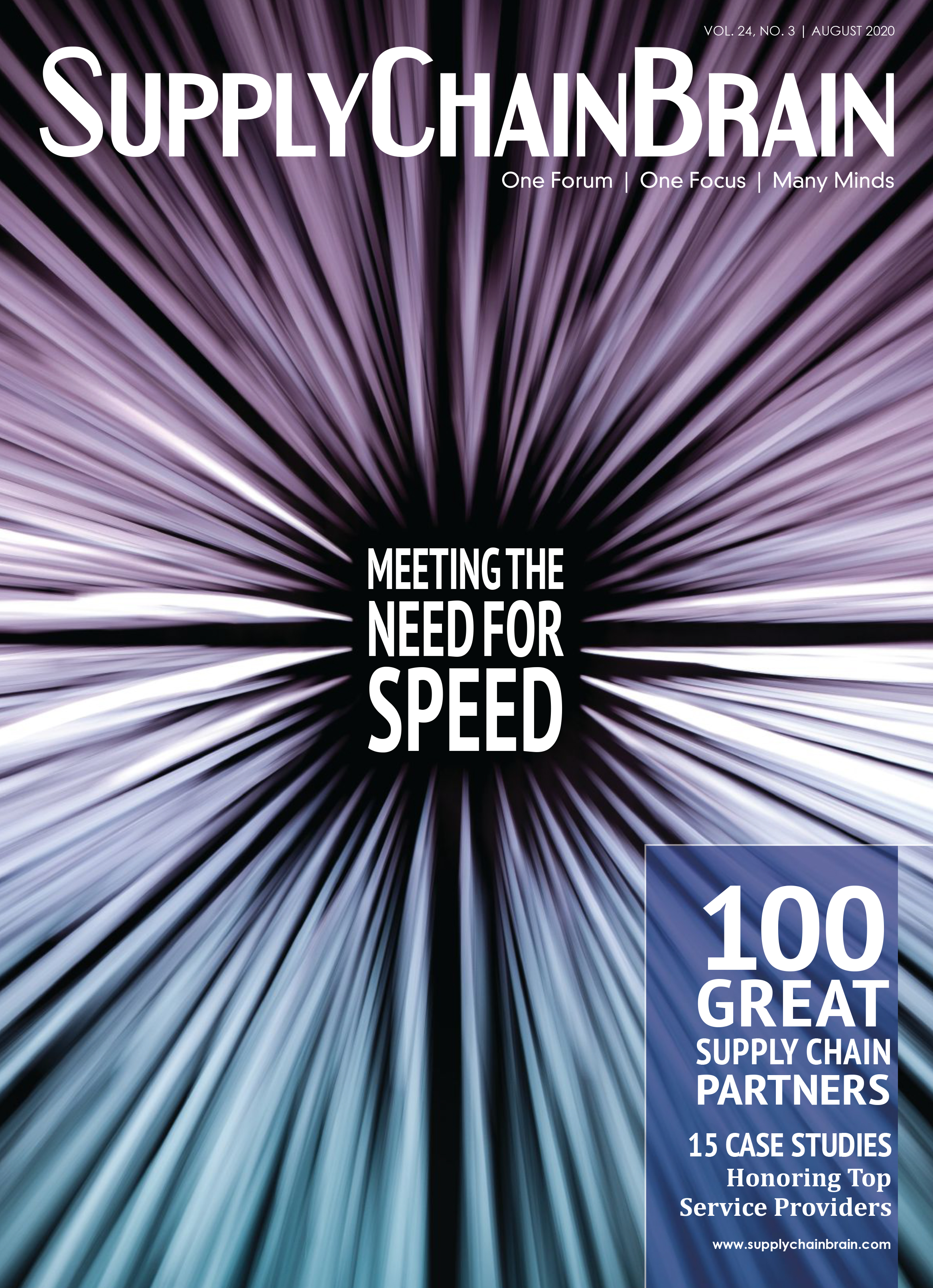 100 Great Supply Chain Partners: Meeting the Need for Speed