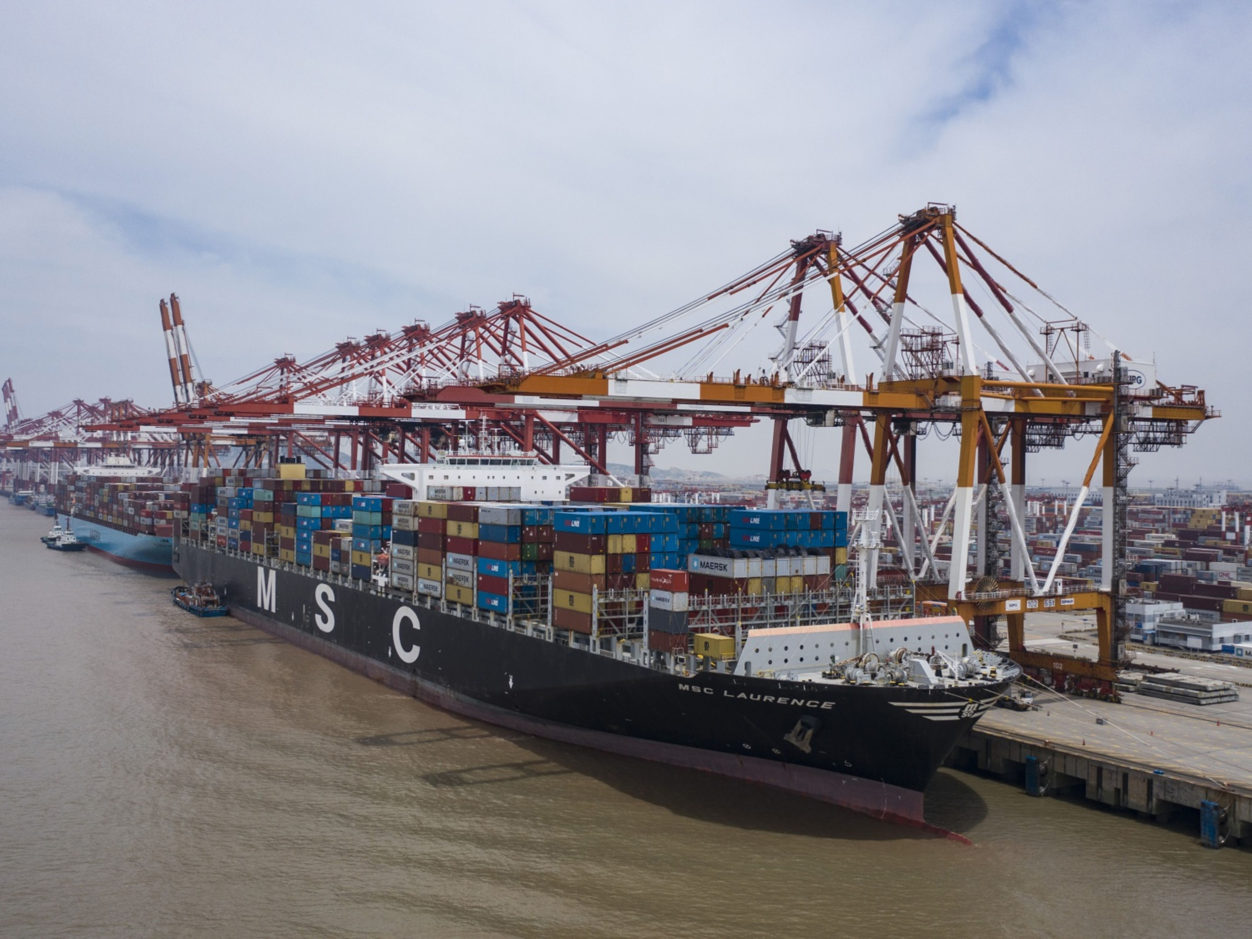 Shipping Container Crunch Shows Signs of Easing