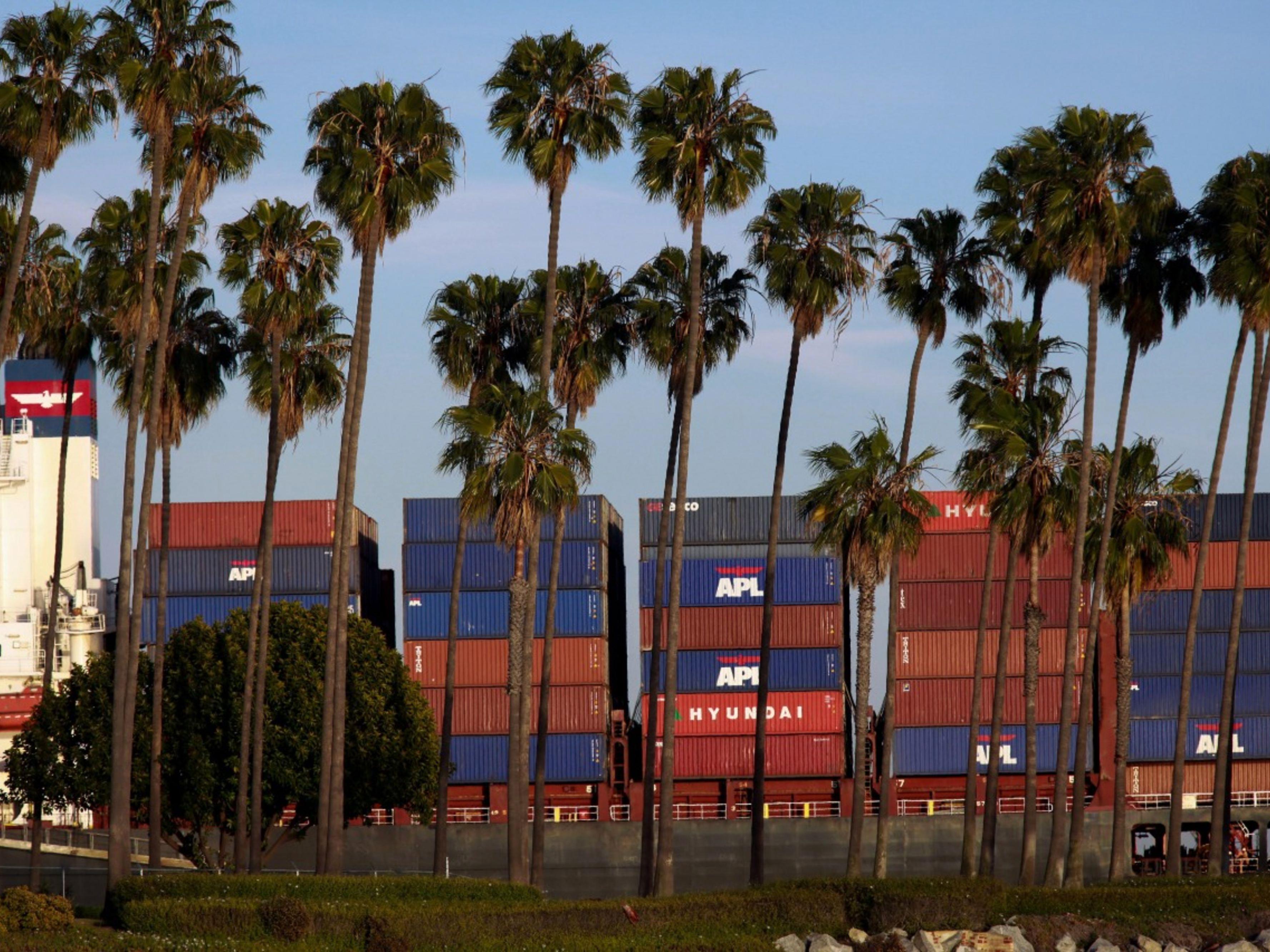 West Coast Port Congestion