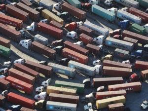 Shipping Logjam