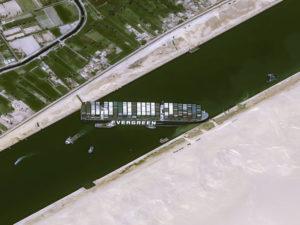 Suez satellite