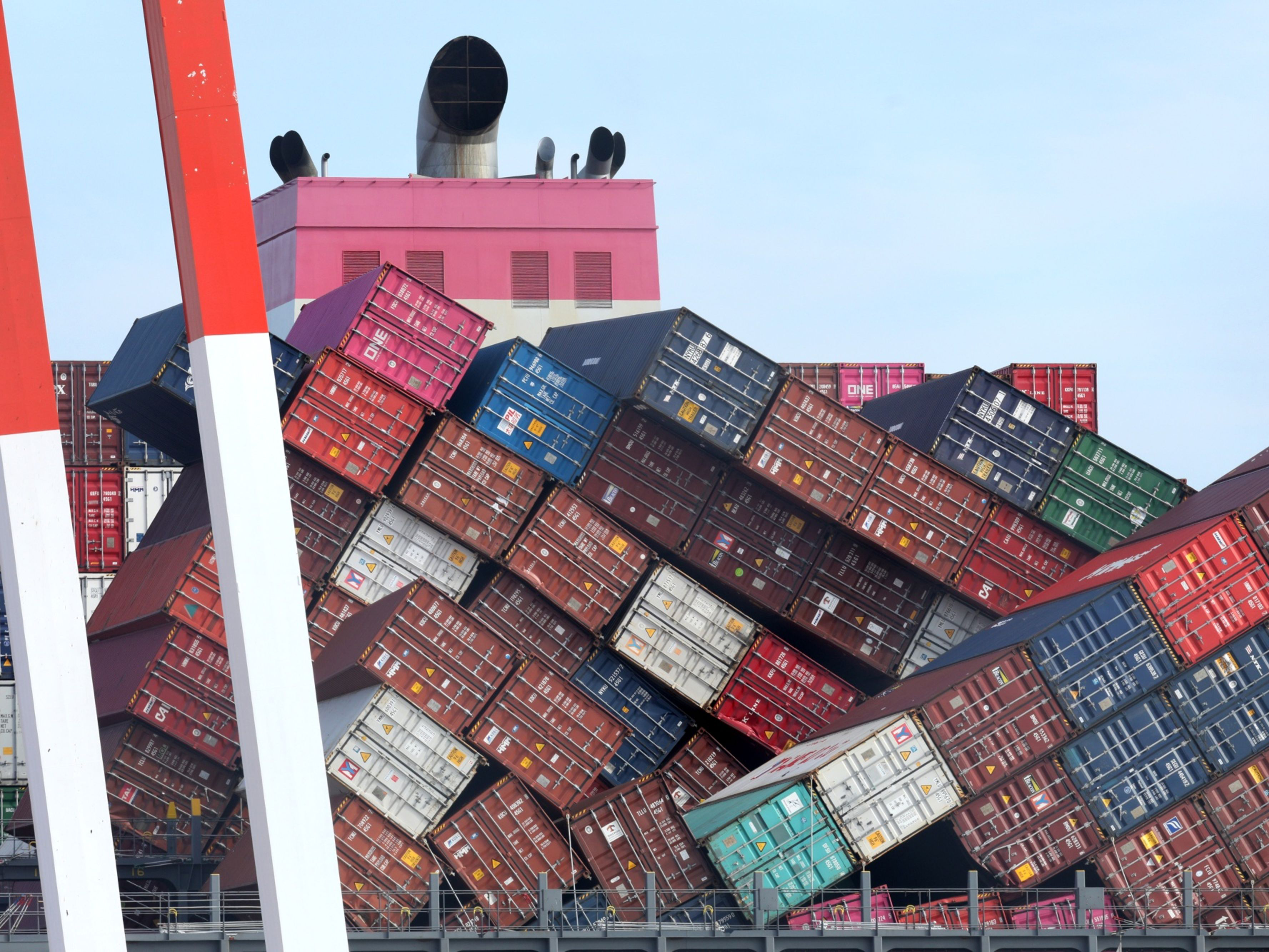 Shipping Containers Are Falling