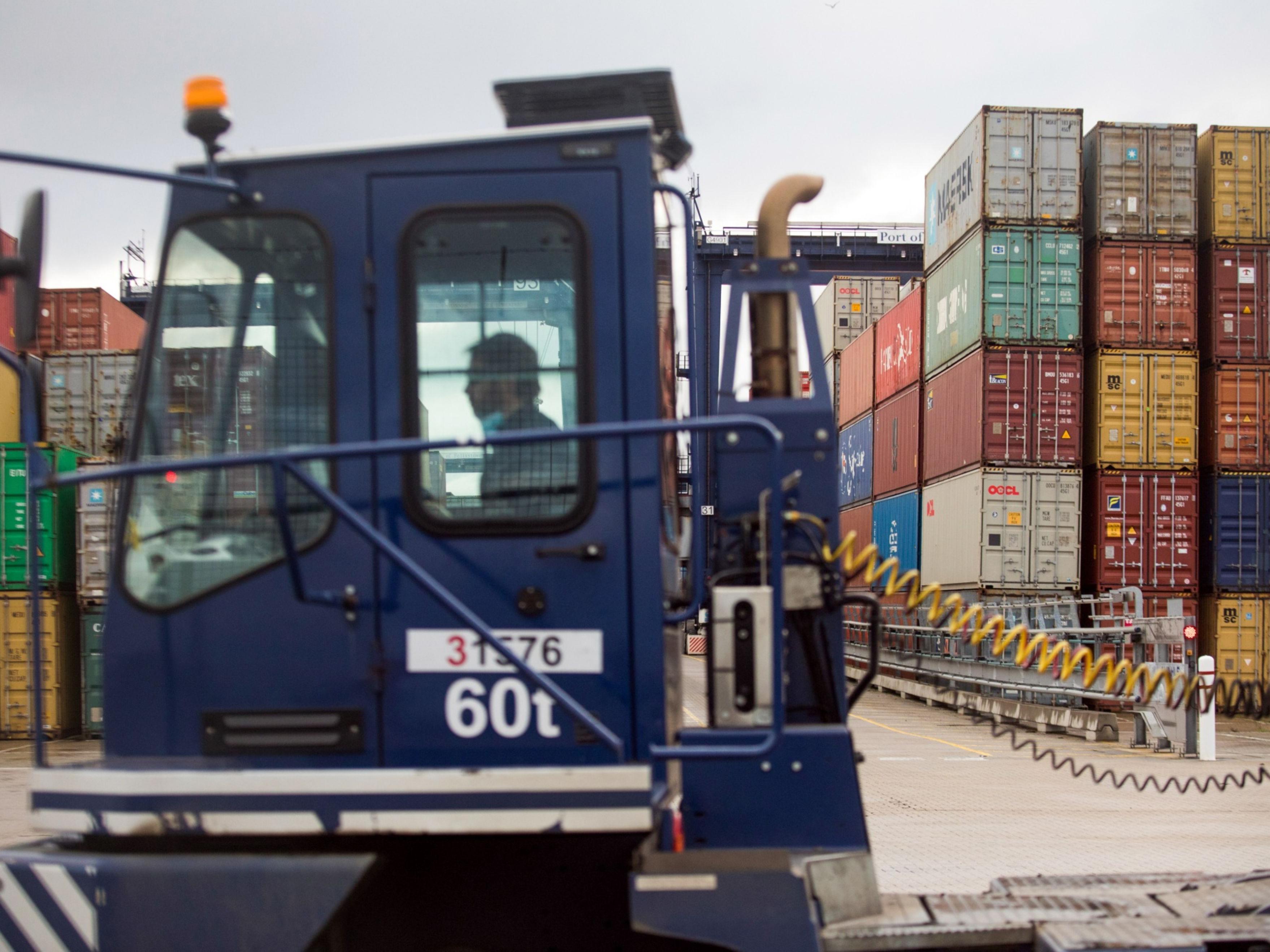 Supply chain worker