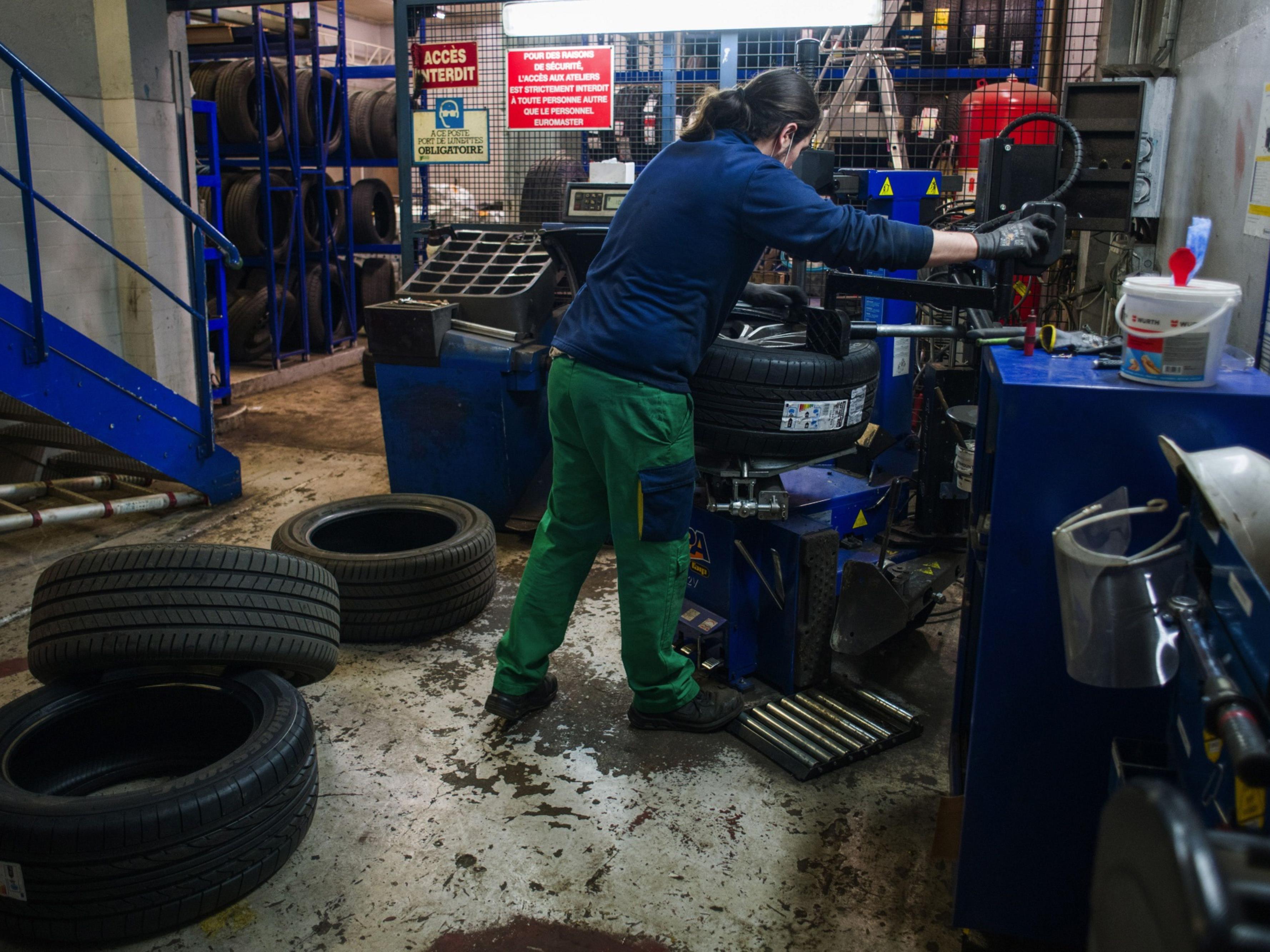 Michelin Tire Servicing