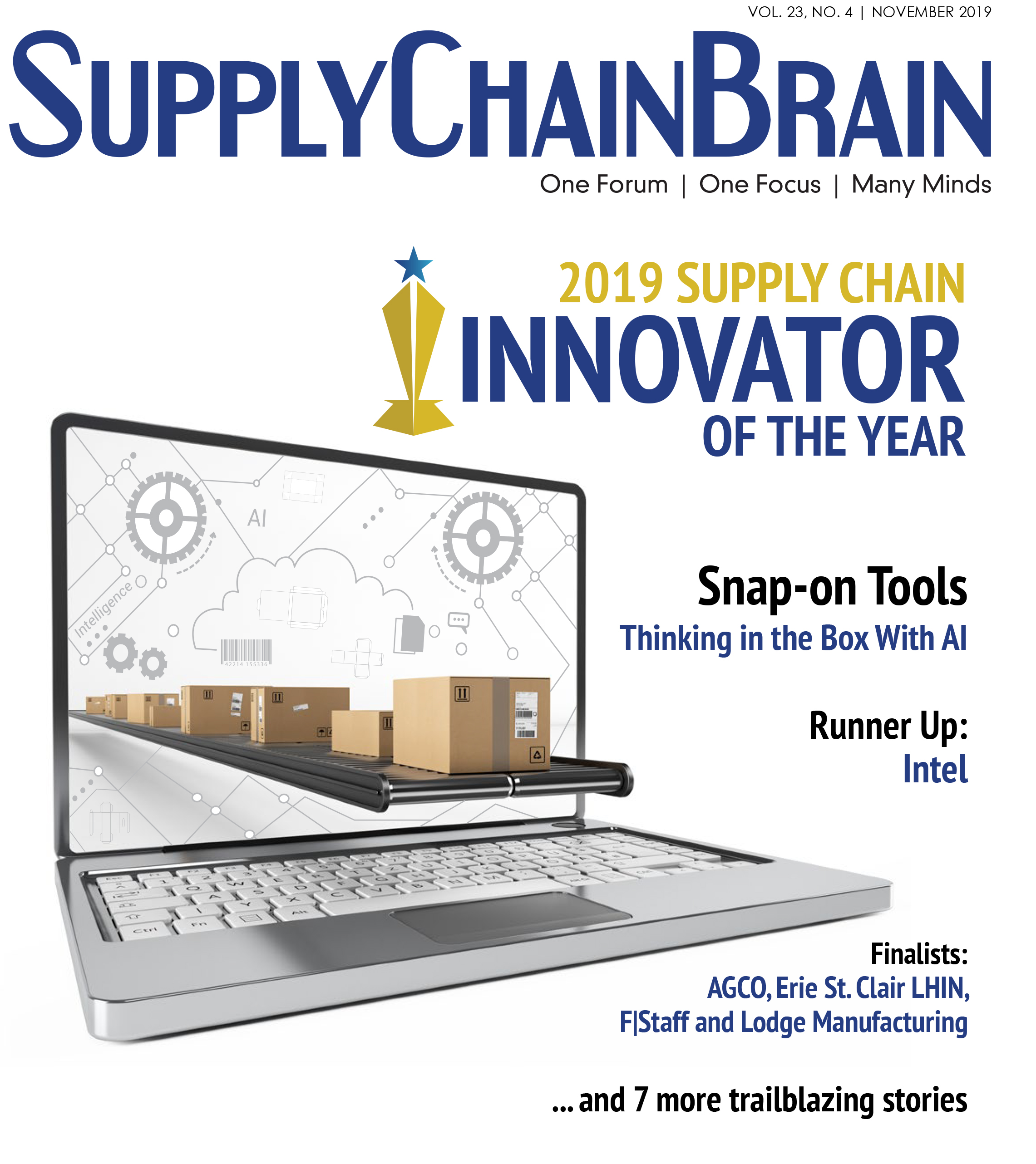 2019 Supply Chain Innovator of the Year