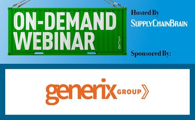 On demand webinar graphic generix