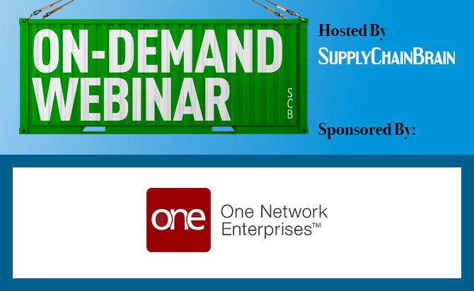 One Network webinar to On Demand