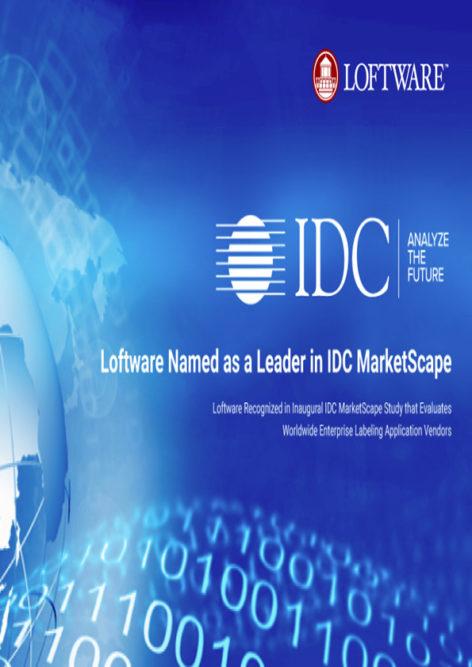 IDC MarketScape: Excerpt of the Worldwide Enterprise Labeling Application 2018 Vendor Assessment