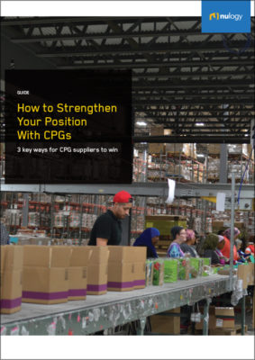 How to Strengthen Your Position With CPGs - 6 key ways for CPG suppliers to win