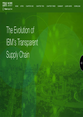 The Evolution of IBM's Transparent Supply Chain