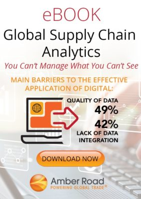 Global Supply Chain Analytics eBook: You Can't Manage What You Can't See