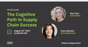 Cognitive Path to Supply Chain Success Webinar