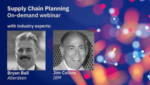 Webinar: Maximize your supply chain effectiveness with superior planning and analytics