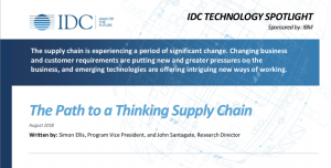 IDC Thinking Supply Chain Whitepaper