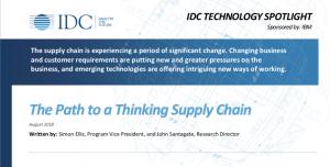 IDC Thinking Supply Chain Whitepaper