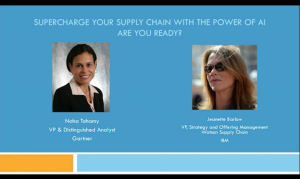 Gartner Webinar Supercharge Your Supply Chain with the Power of AI. Are You Ready?