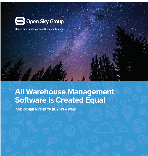 All Warehouse Management Software is Created Equal: And other Myths of Buying a Warehouse Management System