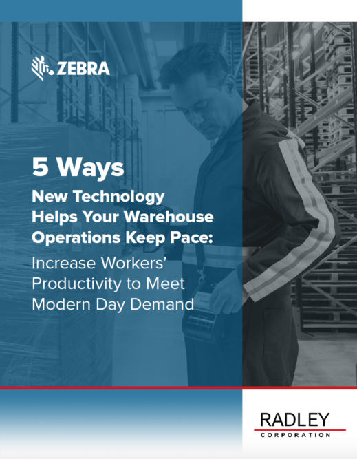 5 Ways New Technology Helps Your Warehouse Operations Keep Pace: Increase Workers Productivity to Meet Modern Day Demand