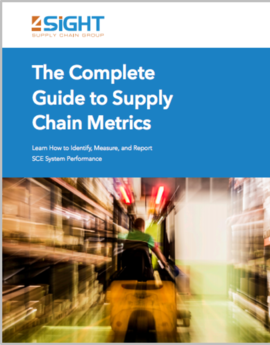 4sight supply chain metrics