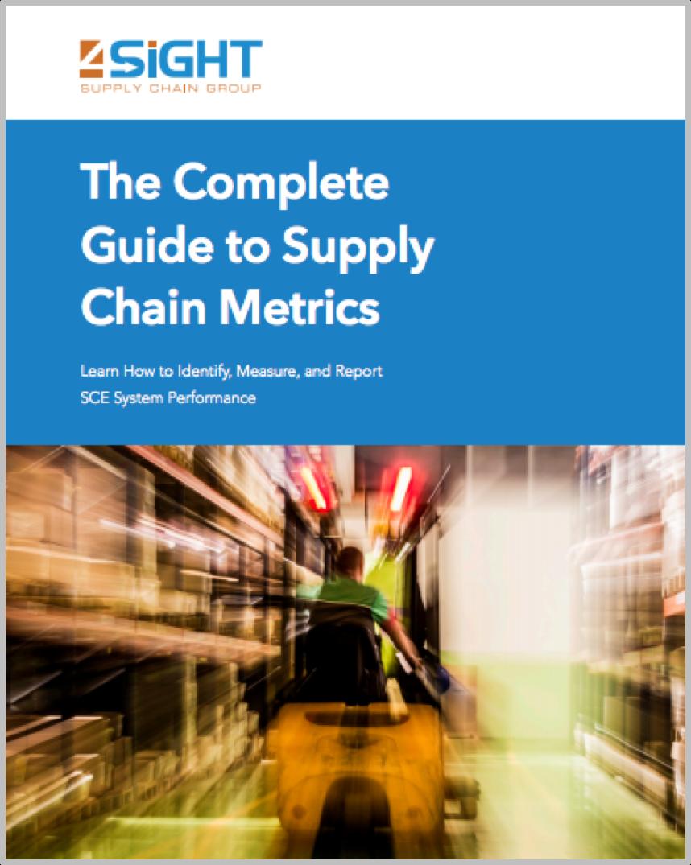 4sight supply chain metrics