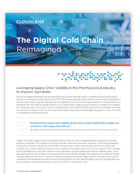 Cloudleaf digital cold chain reimagined