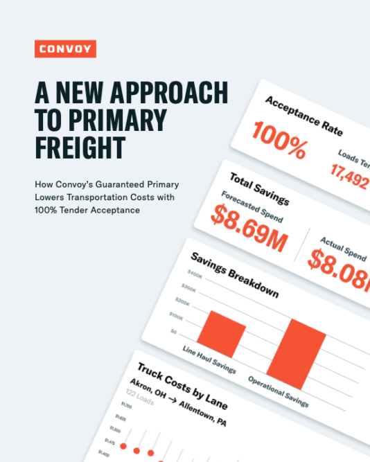 A New Approach to Primary Freight