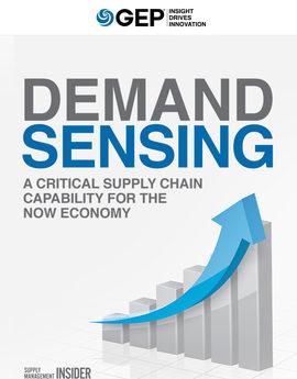 Gep demand sensing critical supply chain capability