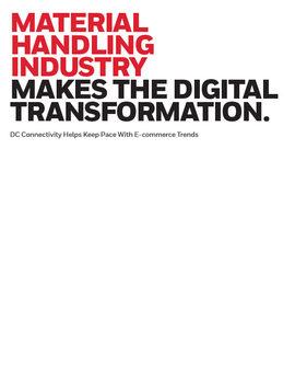 Honeyewll material handling digital transformation