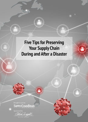 Five Tips for Preserving Your Supply Chain During and After a Disaster
