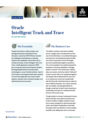Deep Analysis Analyst Brief: Oracle Intelligent Track and Trace