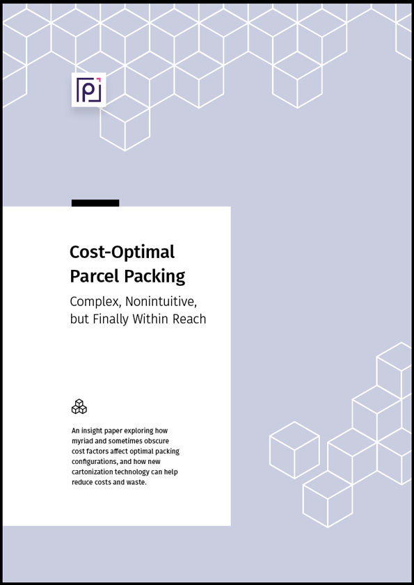 Paccurate costoptimal parcel packing