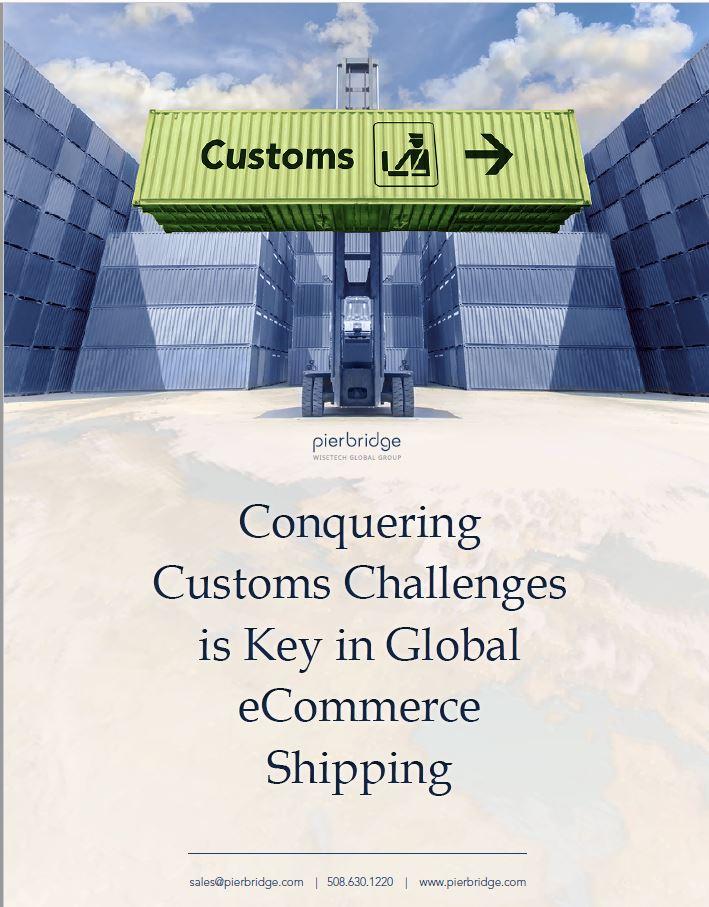 Pierbridge conquering customs challenges