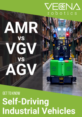 AMR/VGV/AGV – Get to Know Self-Driving Industrial Vehicles