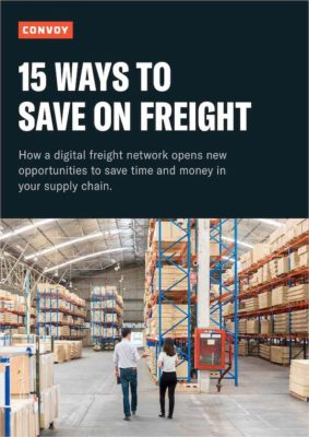 15 Ways to Save on Freight - Convoy