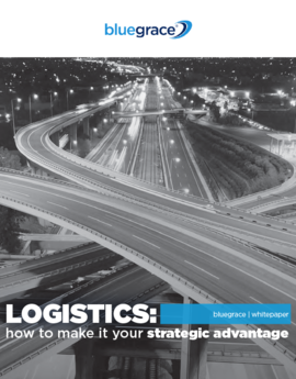 Bluegrace logistics strategic advantage