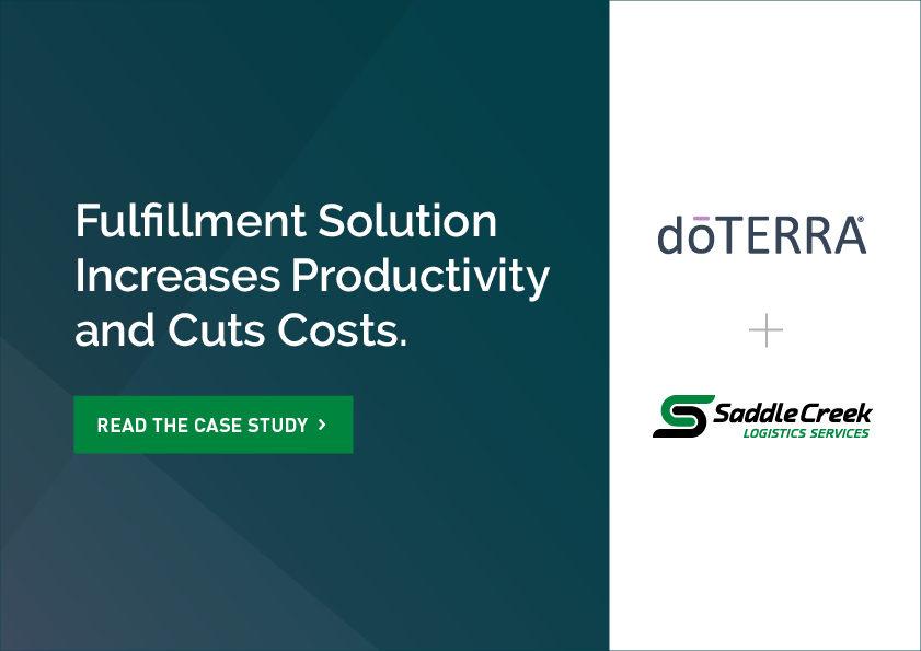 Fulfillment Solution Cuts Average Cost Per Order by 62 Percent