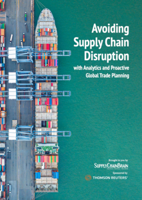 Avoiding Supply Chain Disruption with Analytics and Proactive Global Trade Planning