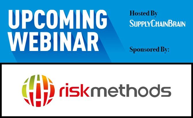 Riskmethods upcoming webinar